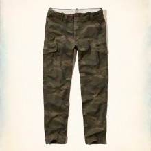 HOLLISTER SLIM STRAIGHT CARGO PANTS