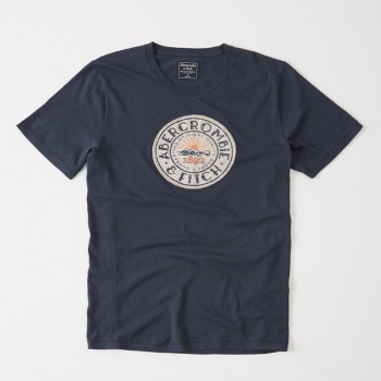 A&F GRAPHIC TEE
