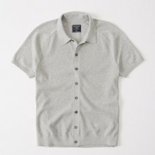 BUTTON-UP SWEATER POLO