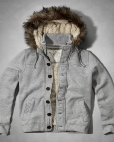 Оригинальная куртка толстовка Abercrombie Fitch