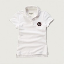 EMBROIDERED LOGO SLIM POLO